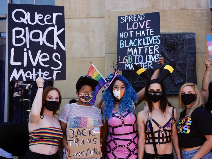 Queer Black Protester